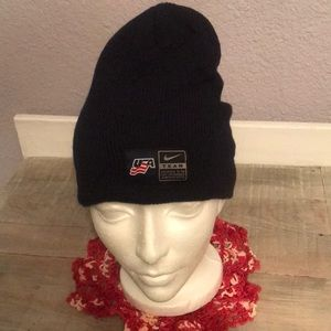 EUC Super Nike Team USA Navy Beanie